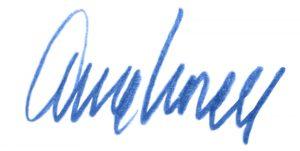 Arnes signatur bläck (rektangel)