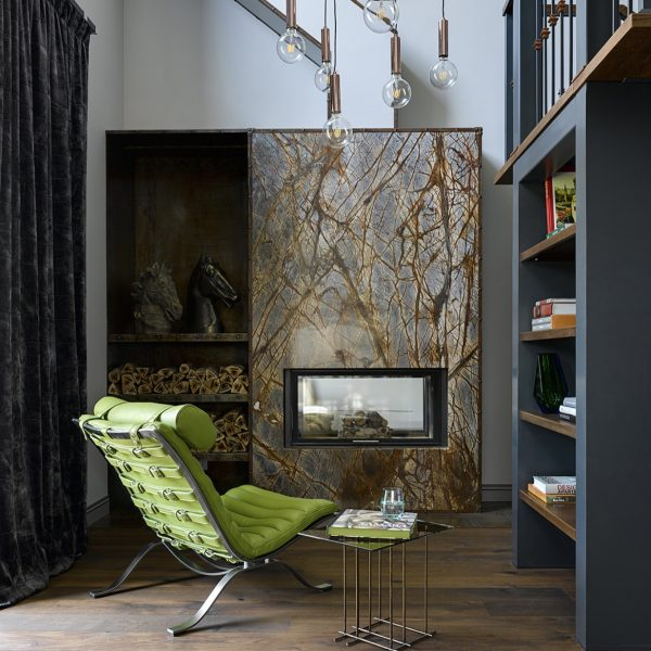 Ari from Norell Furniture in a project in Moscow, Russia. Design: Arne Norell. (Photo: Architectural Digest Russia)