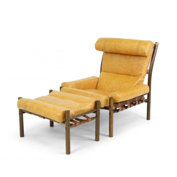 Inca chair by Norell Furniture. Designed by Arne Norell.