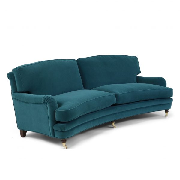 Curved Julia sofa by Norell Furniture