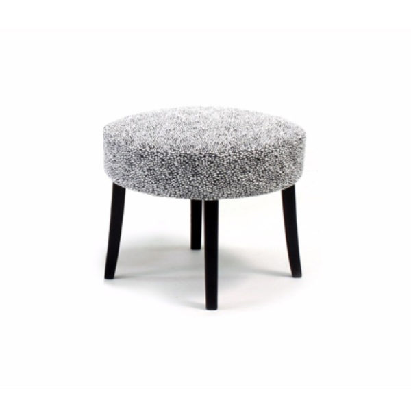 Celina grey footstool, design Norell Furniture Sweden