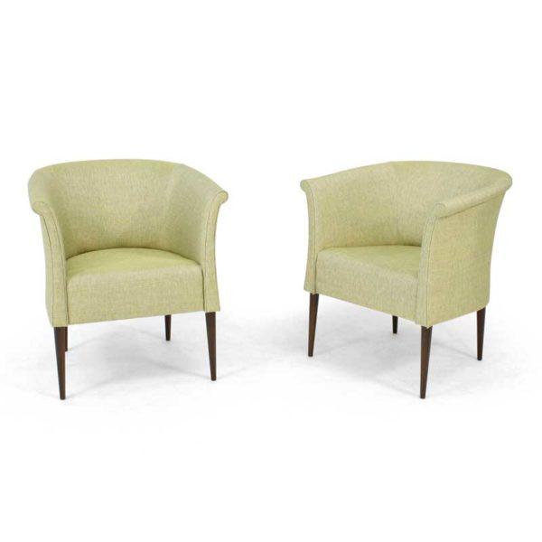 Cicci green armchair, design Marie Norell-Möller