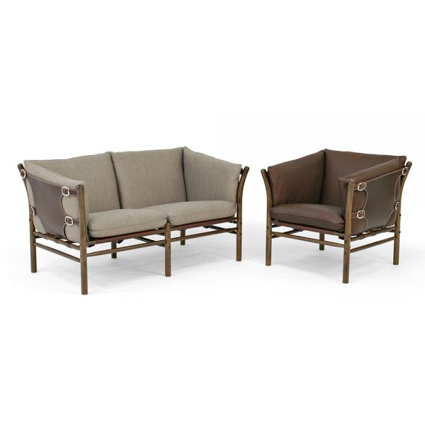 Ilona sofa and armchair. Design Arne Norell for Norell Furniture Sweden