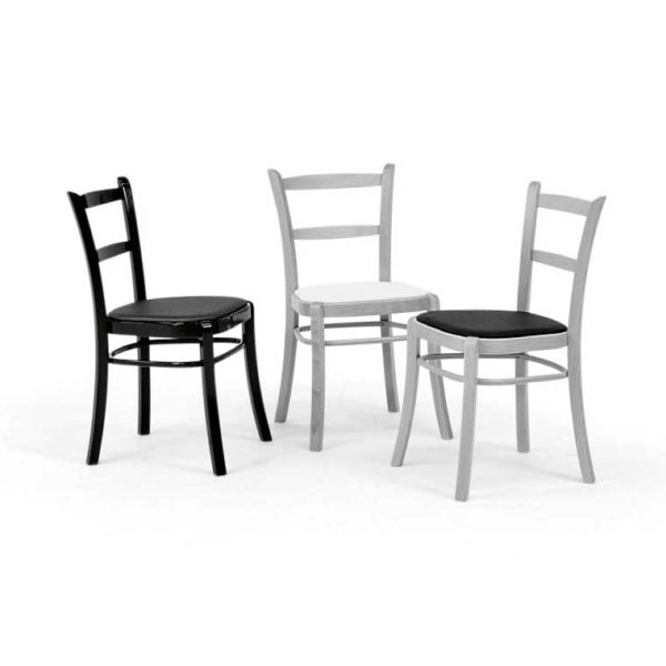 Paris chairs in different colors, design Norell Furniture Sweden