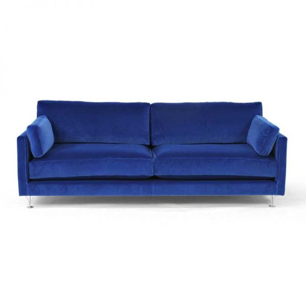 Deep and Soft blue sofa couch design Norell Furniture