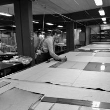 Craftsmanship at Norell Furniture's factory in Sweden