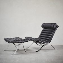 'Ari' lounge chair by Norell Furniture. Designed by Arne Norell in 1966. Photo: www.artilleriet.se