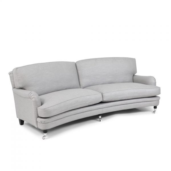 Curved 'Julia' sofa from Norell Furniture.