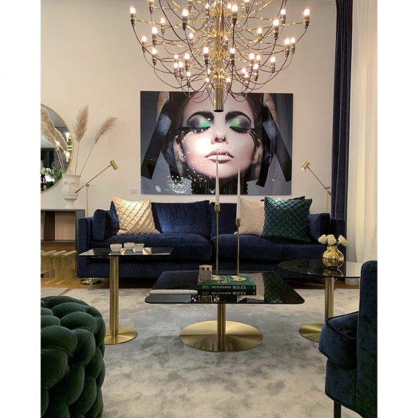 'Deep' sofa by Norell Furniture. (Photo instagram @vasahem)