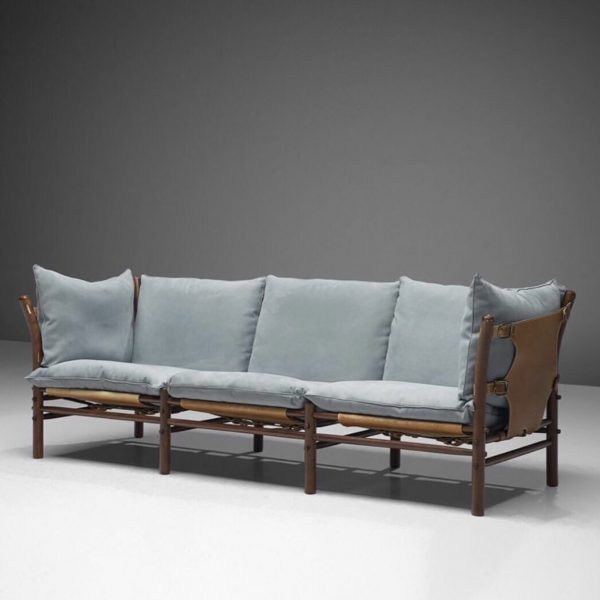 Vintage ilona sofa made by Norell Furniture. Design by Arne Norell 1971.