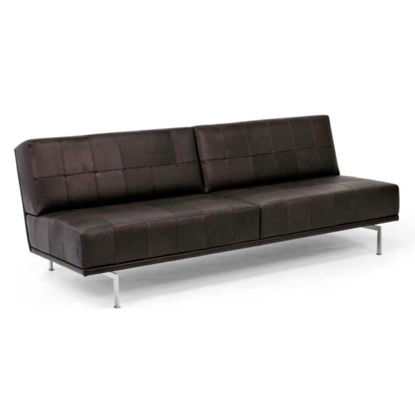 Look sofa brown leather, Norell Furniture Sweden