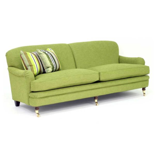 Romeo green sofa, design Norell Furniture Sweden