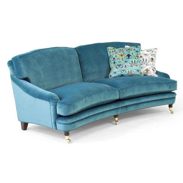 Juliette blå soffa design norell