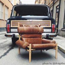 Inca vintage armchair, design Arne Norel (photo: @designboard)